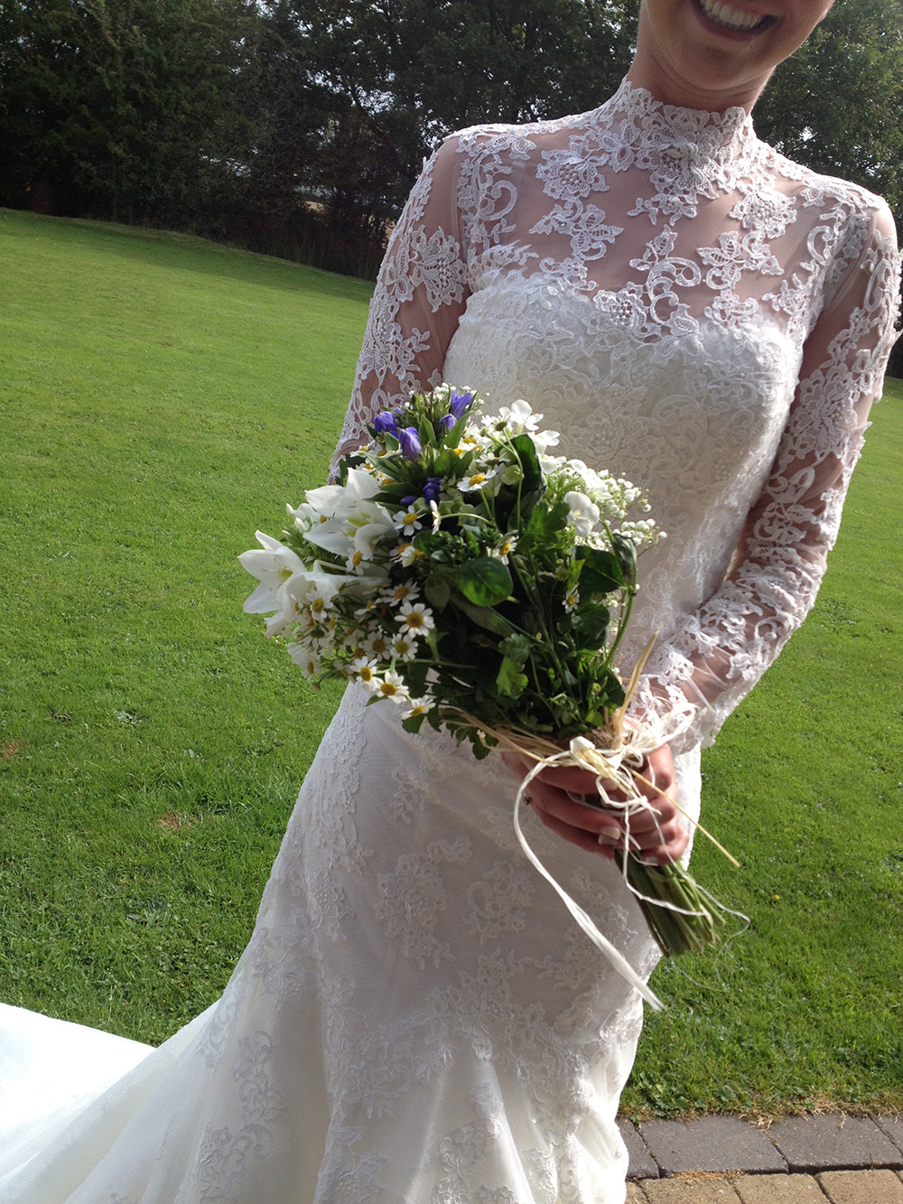 Edwardian Bridal Bouquet White